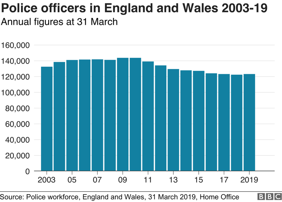 Annual police figures