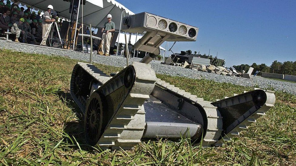 US Army robot