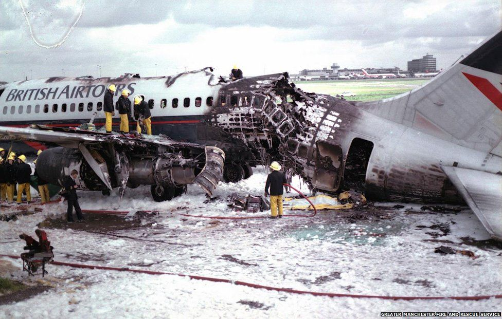 Manchester airline disaster, 1985