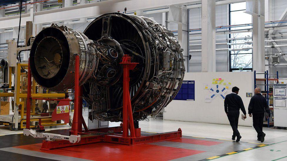 Rolls-Royce engine in Derby