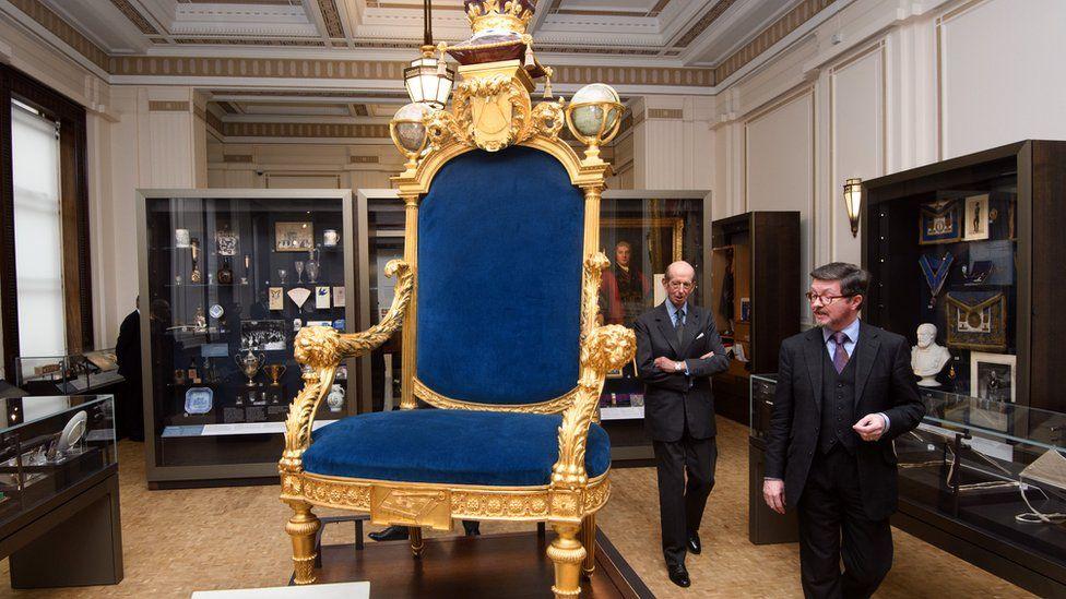 Londra'da masonların merkezi