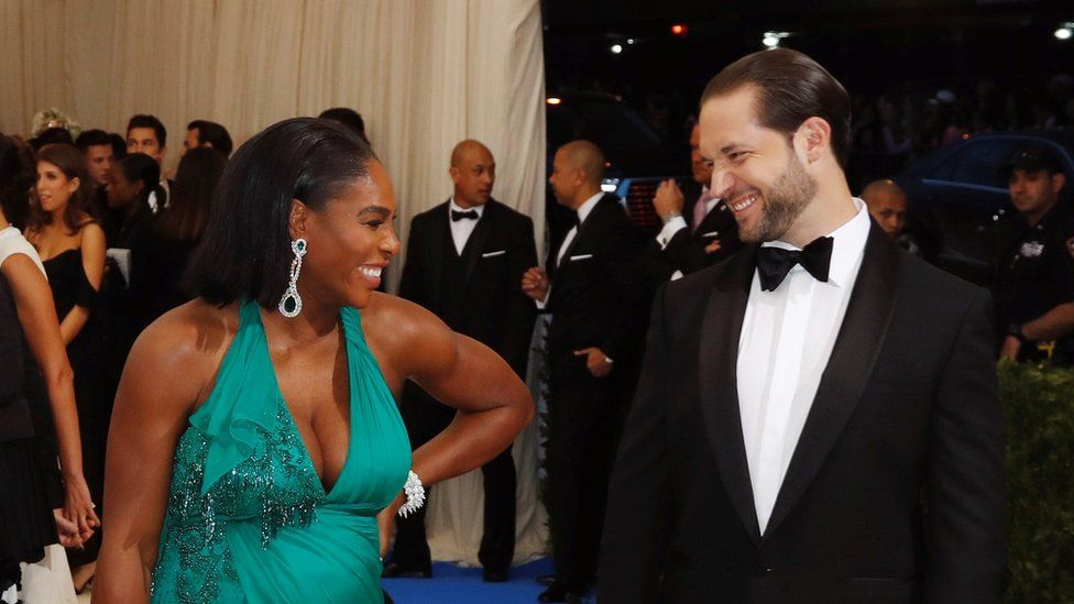 Parents-to-be Serena Williams and Alexis Ohanian attended New York's Met Gala in May