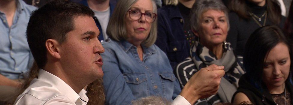 Audience member of Question Time confronts Jeremy Corbyn