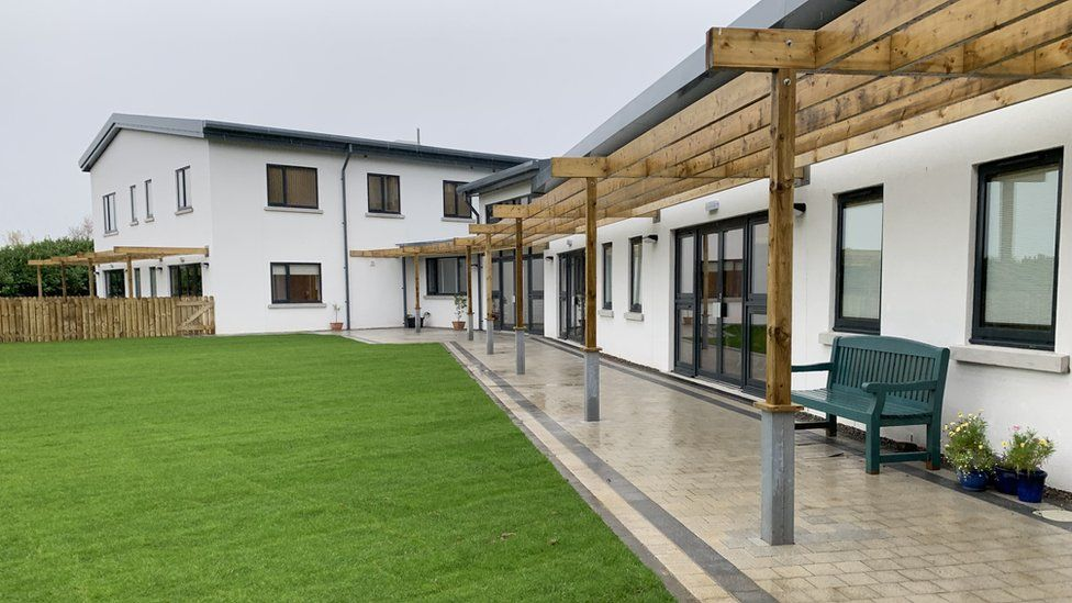 Grassed area outside