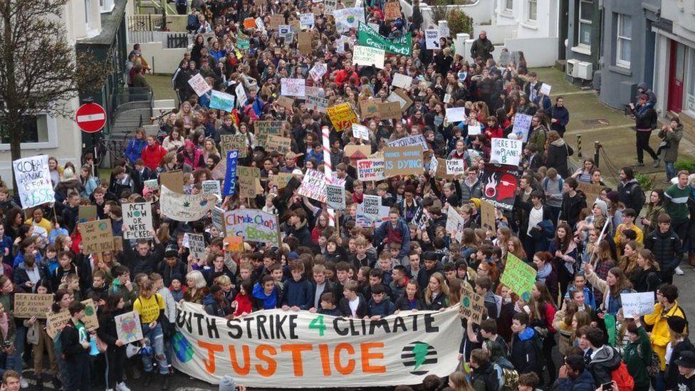 Brighton protest