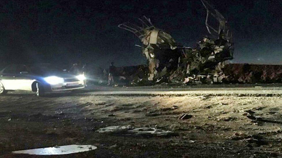 Iran suicide bombing 'kills 27 Revolutionary Guards'