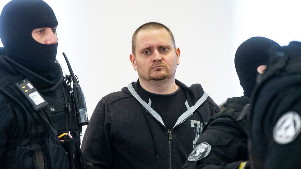 Miroslav Marcek, pictured at the start of the trial in December, admitted the murder in January