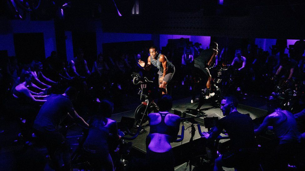 Peloton has studios in London and New York