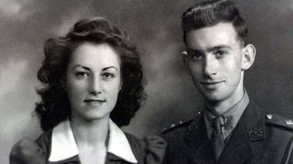 Jean and George Spear in 1942