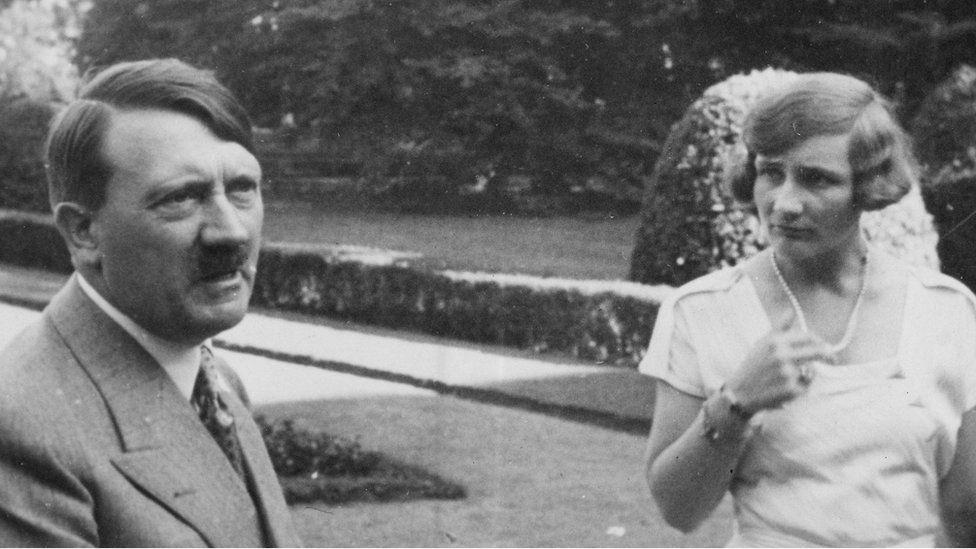 Adolf Hitler and Unity Mitford