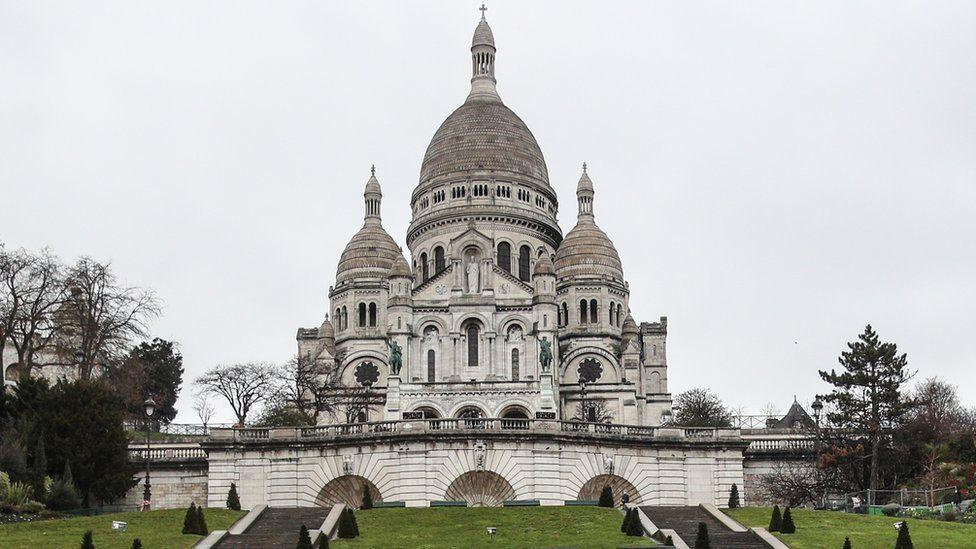 The Sacré-Cœur in Paris