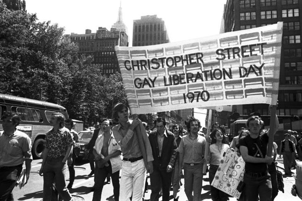 The Christopher Street Gay Liberation Day