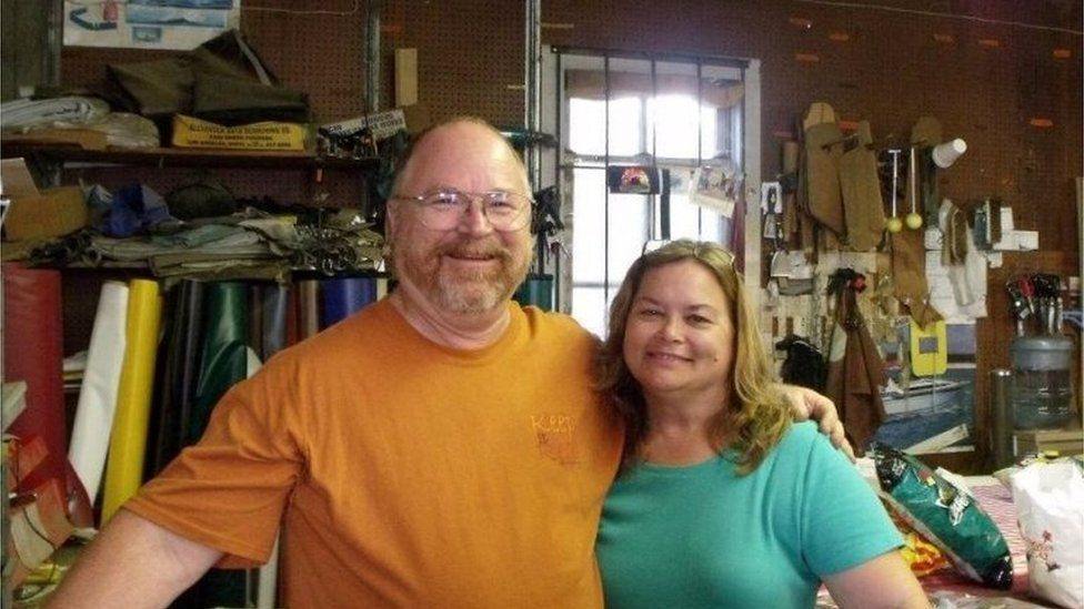 Bryan and Karla Holcombe, two of eight extended family members killed in the Texas church shooting, 5 November 2017