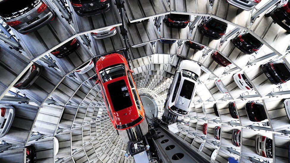 VW storage facility