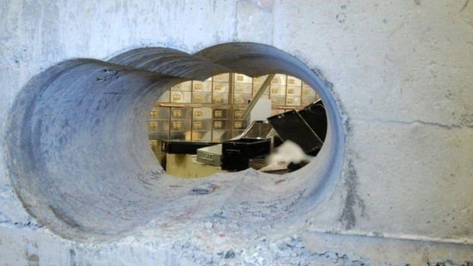 Hatton garden tunnel
