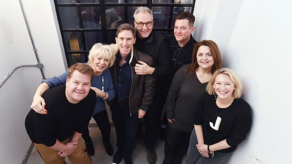 The cast of Gavin and Stacey