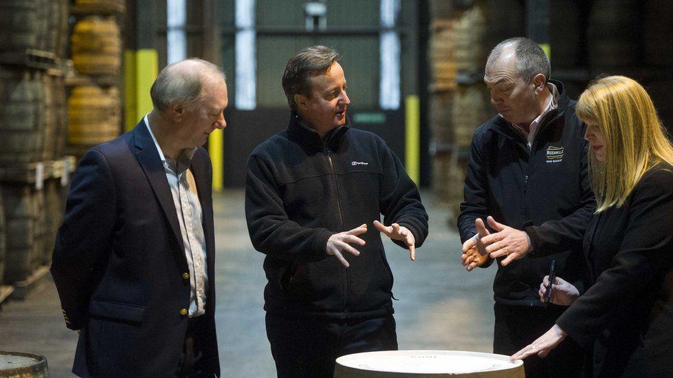 David Cameron Bushmills