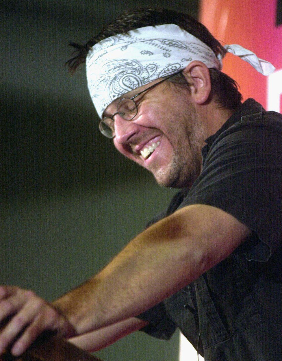 David Foster Wallace reading from a selection of his writings in New York in 2002