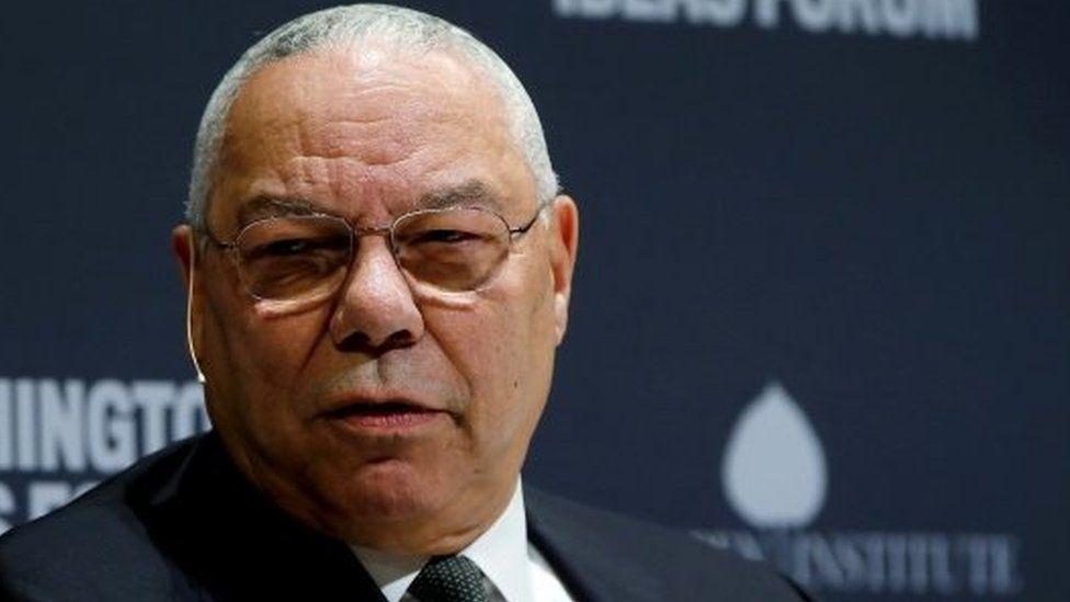 Colin Powell. File photo