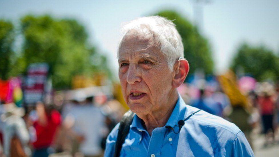 Pentagon Papers whistleblower Daniel Ellsberg