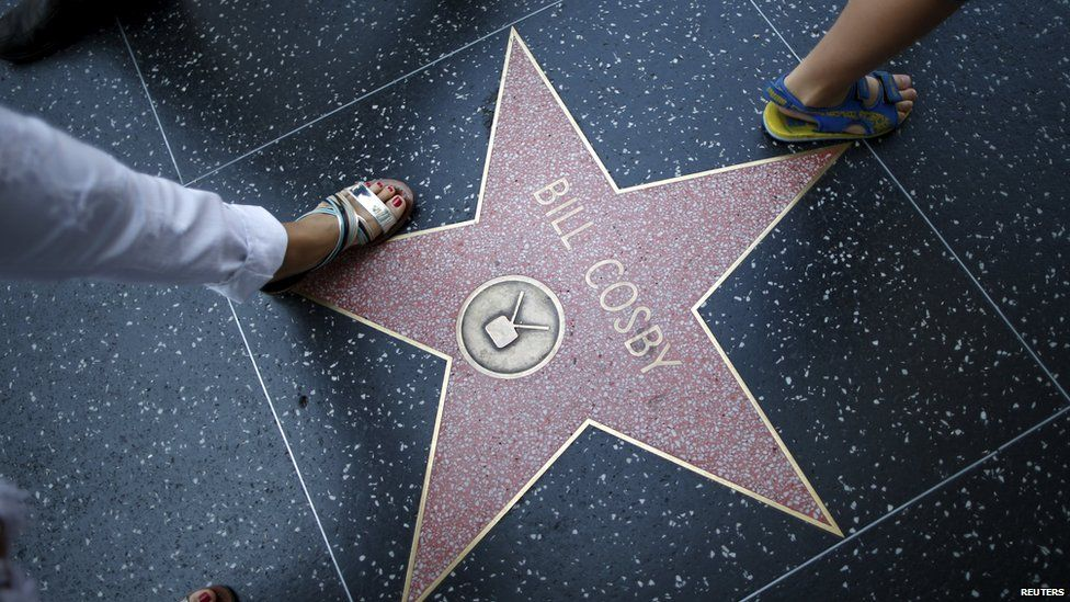 Bill Cosby's star on Hollywood Walk of Fame