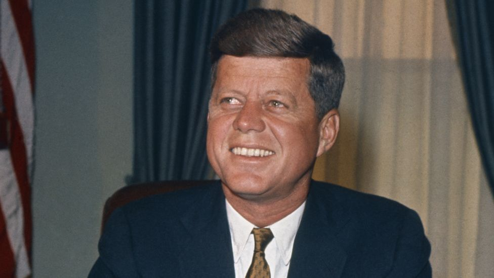 JFK in White House