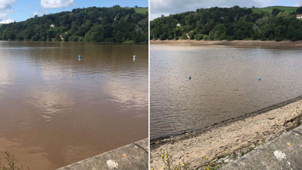 Toddbrook Reservoir on Friday and Monday