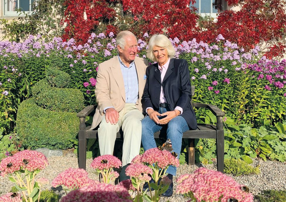 Handout image provided by Clarence House of the 2020 Christmas card of the Prince of Wales and Duchess of Cornwall which features a photograph taken in the early autumn at Birkhall, Scotland, by a member of their staff.