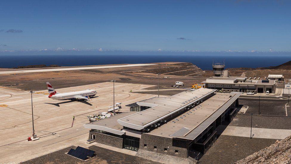 St Helena airport