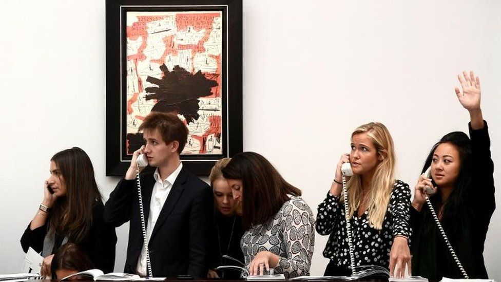 Sotheby's bought by French billionaire for $3.7bn