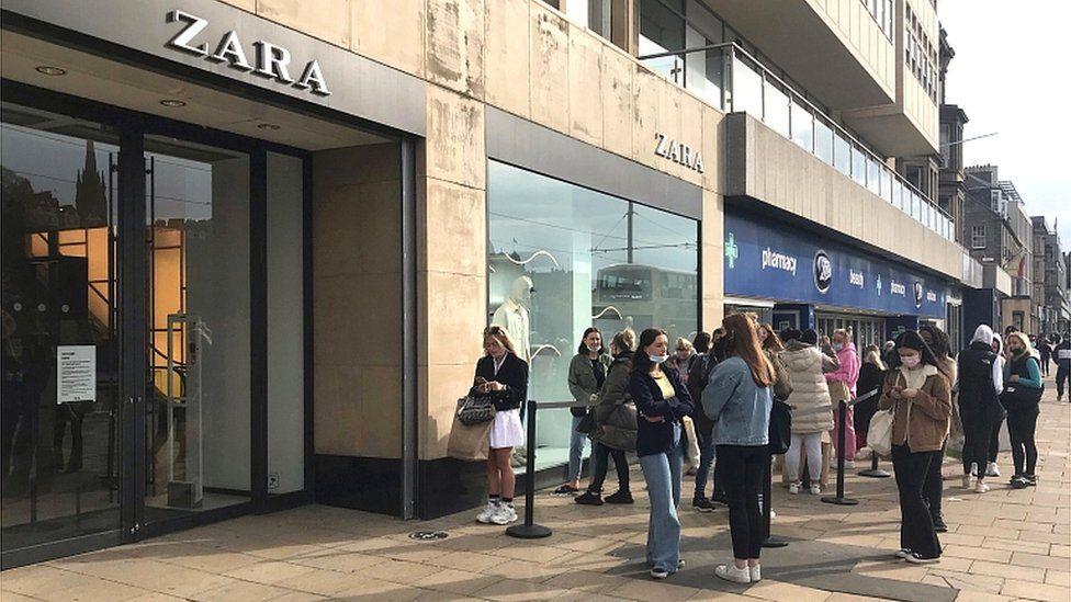 Princes Street reopening