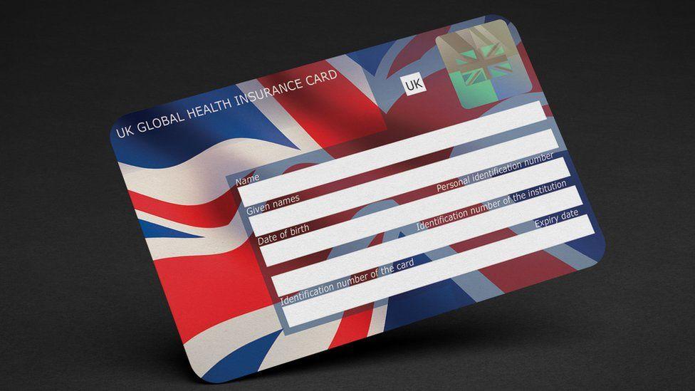 New UK Global Health Insurance Card