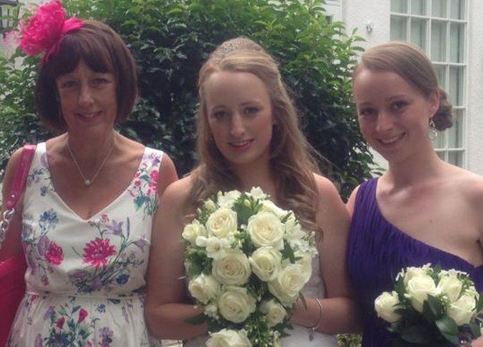 Debbie Postles, Ellie Seaton and Hannah Postles