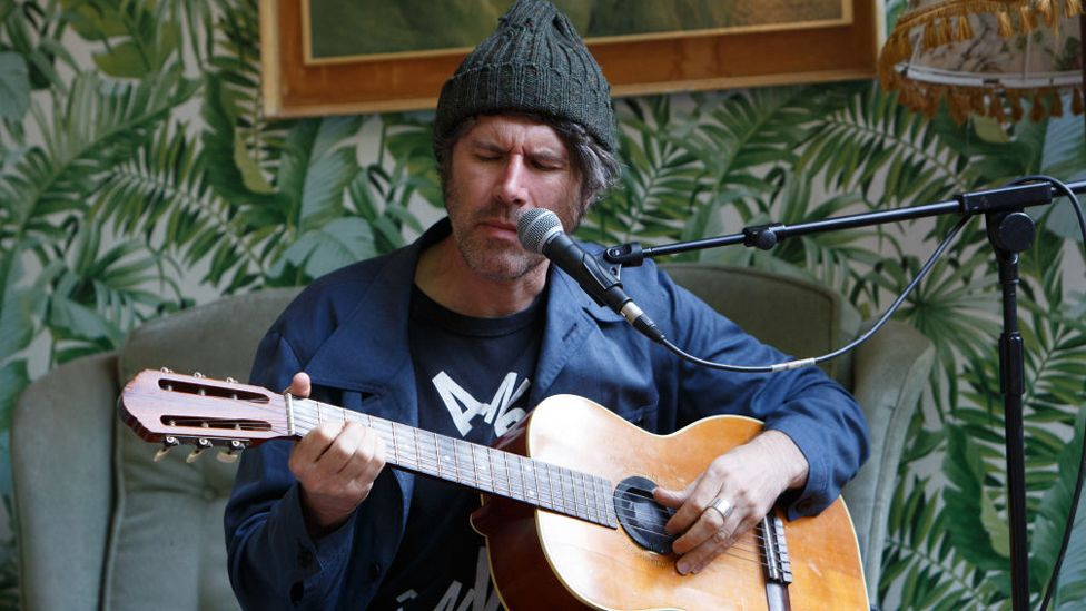 Gruff Rhys's fifth solo album was recorded with the BBC National Orchestra of Wales