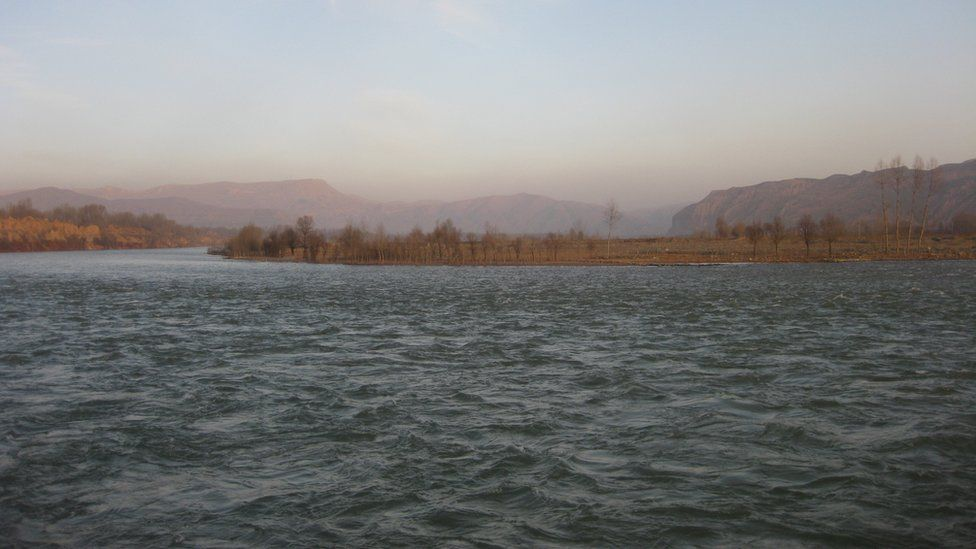 The Yellow River near the Lajia site