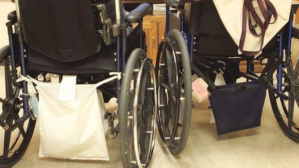 Generic image - wheelchairs