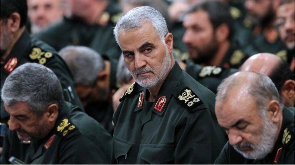 Qassem Soleimani in Tehran (file photo)