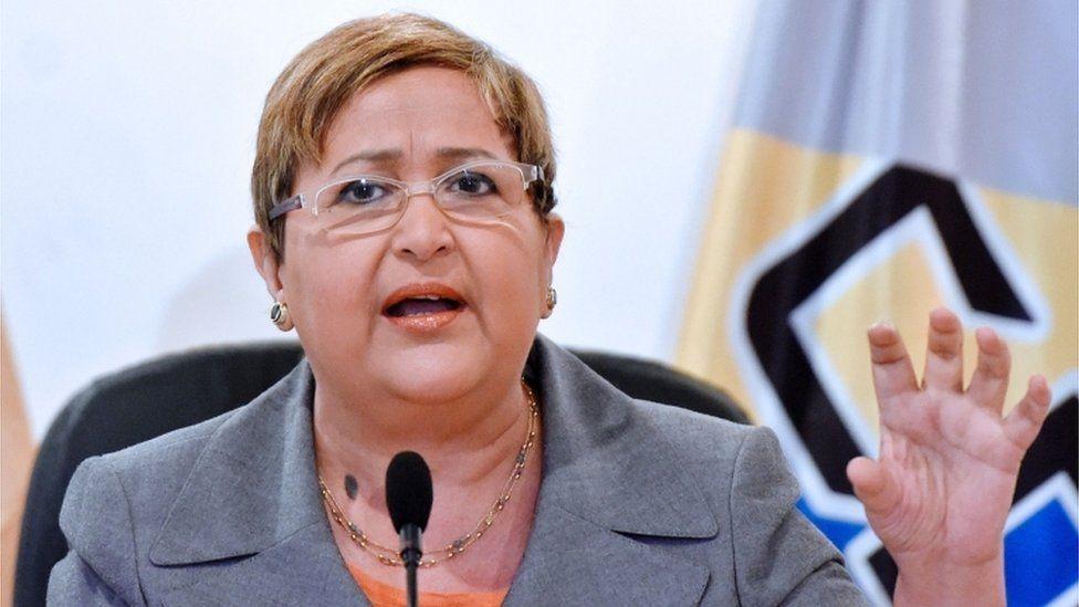 Venezuelan politician Tibisay Lucena