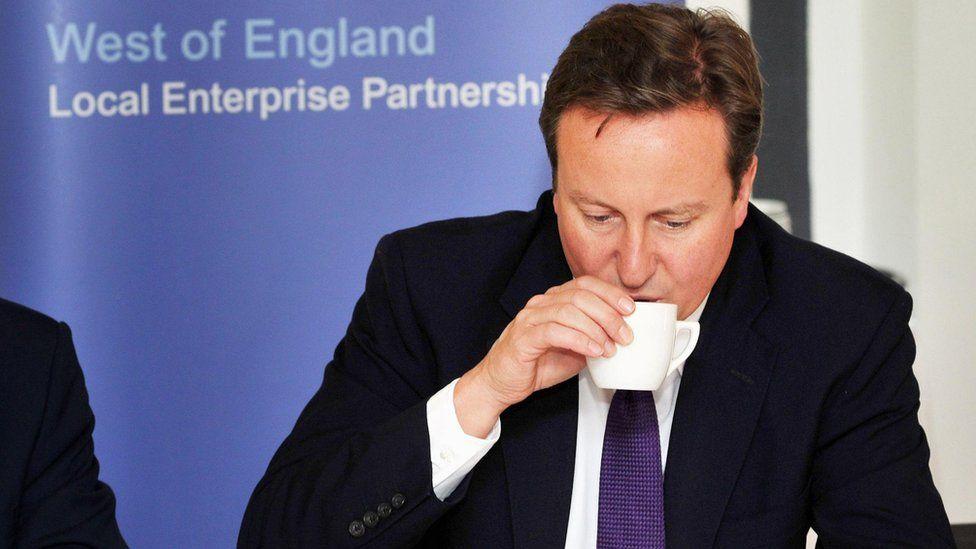 David Cameron at a Local Enterprise Partnership event in 2011