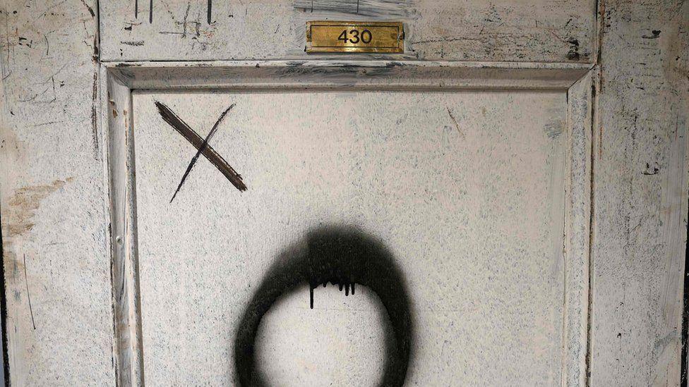 Jimi Hendrix's door