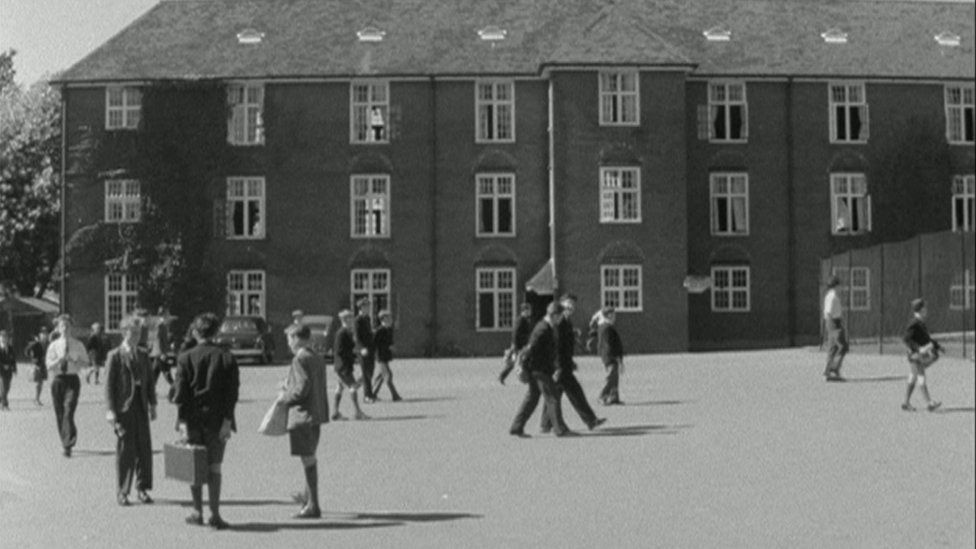 Brighton, Hove and Sussex Grammar School in 1959