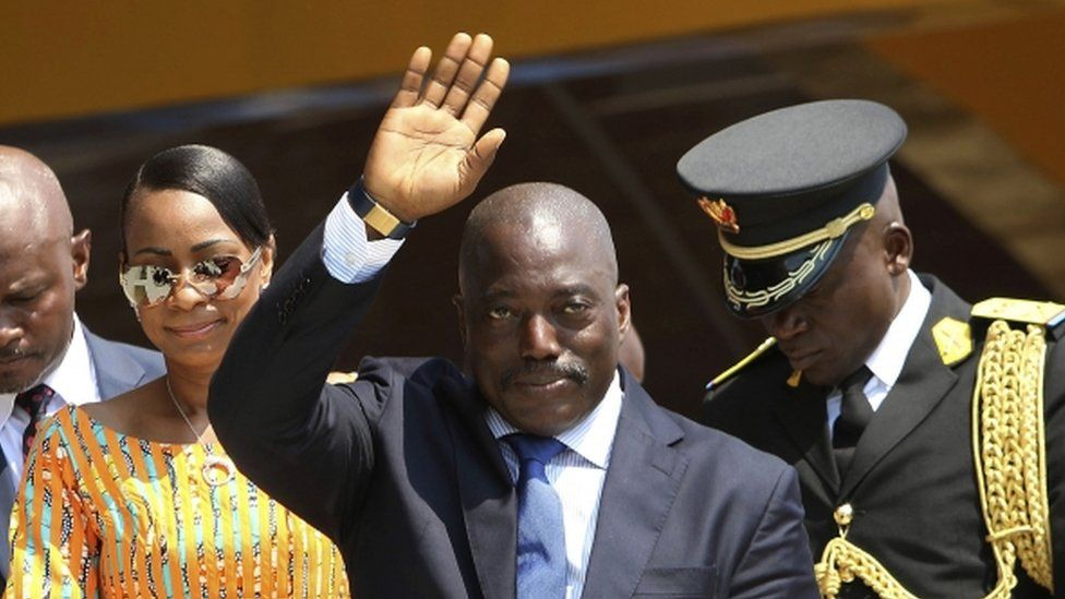 DR Congo President Joseph Kabila (file photo)