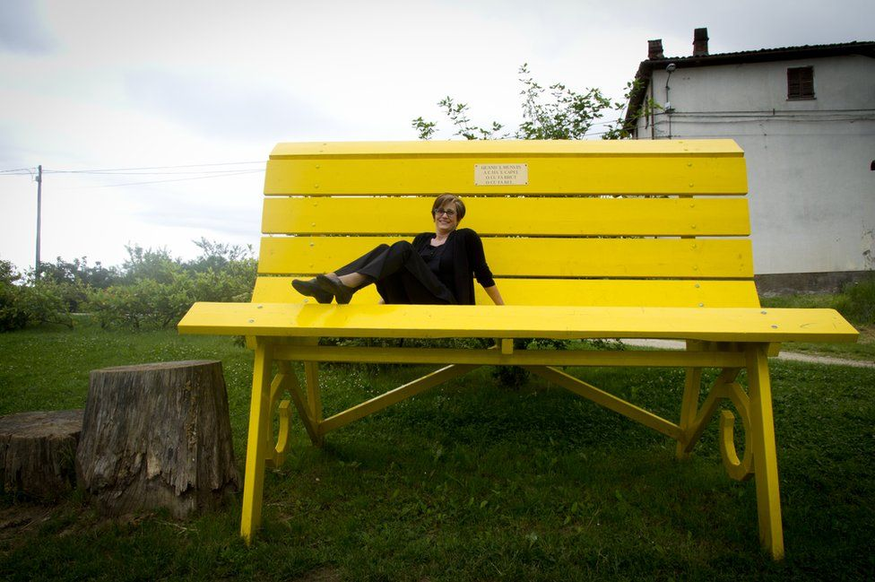 Big Yellow Bench