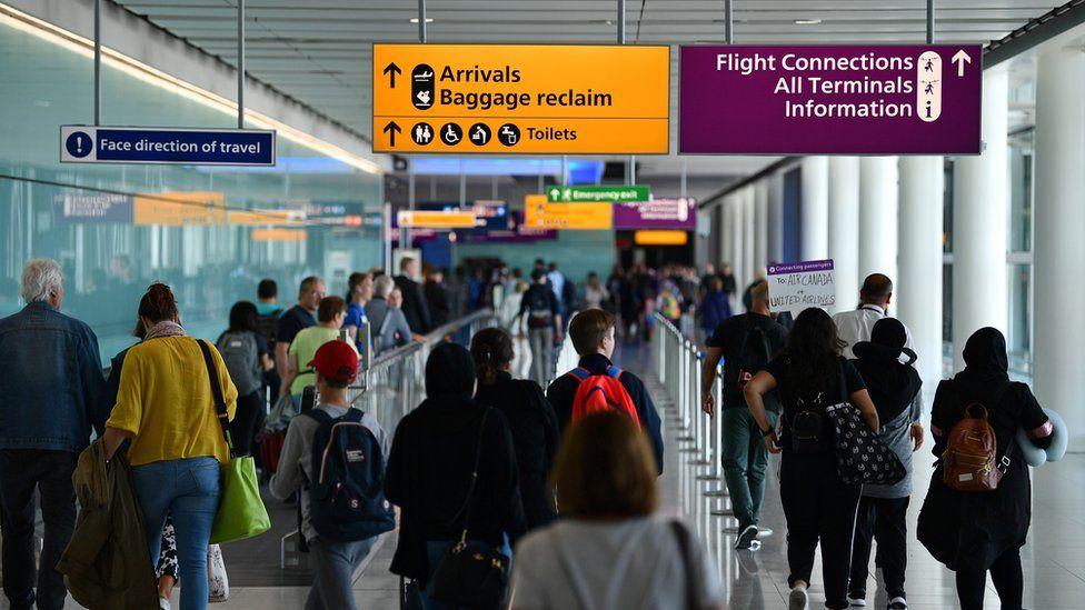 Heathrow Terminal 2 before the lockdown