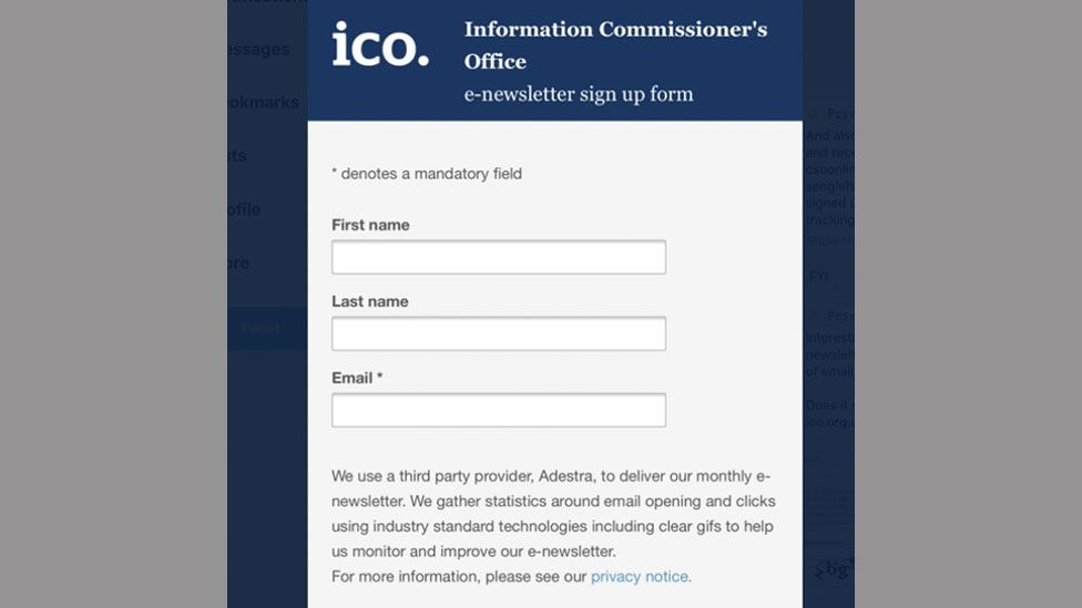 ICO newsletter