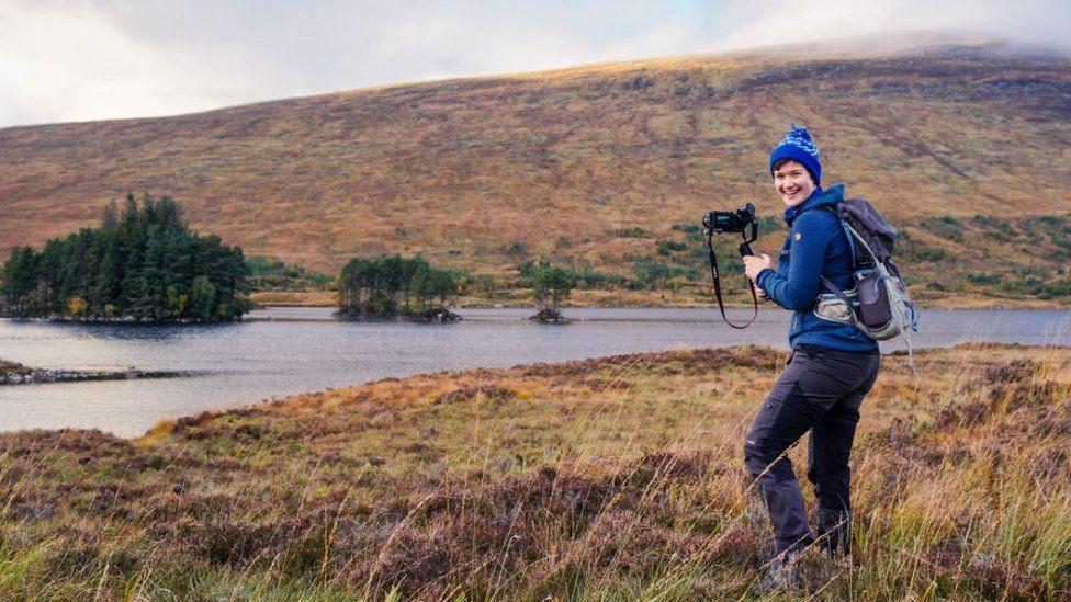 Kathi on the Isle of Skye