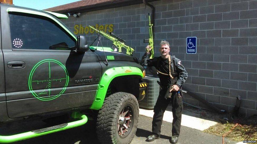 John Cramsey is the owner of a gun range in Pennsylvania