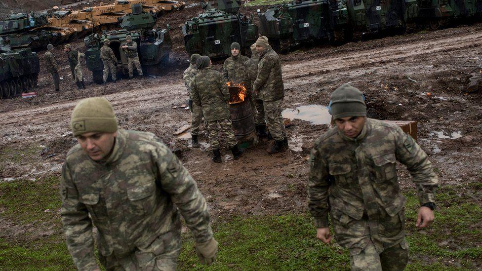 Turkish-led forces