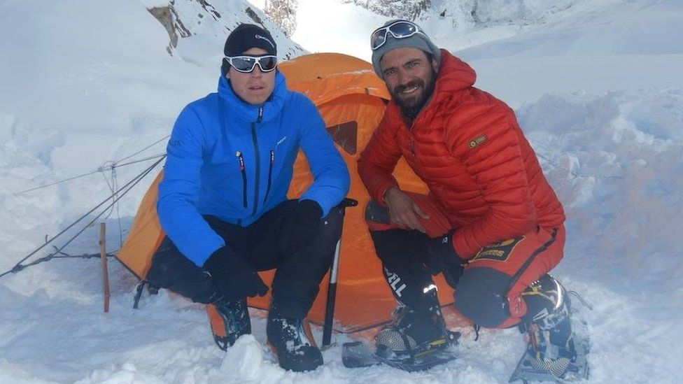 Tom Ballard: Bodies found in missing climbers search