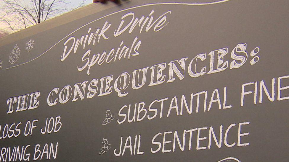 Drink drive slogan